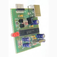 Программатор PIC-контроллеров на микросхеме PIC18F2550-I/P