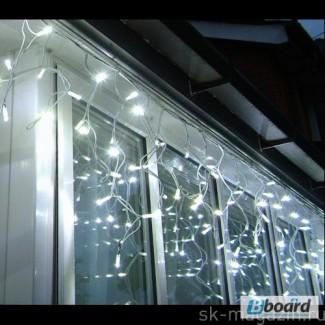 Гирлянда бахрома, световые гирлянды, новогодняя подсветка