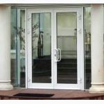 Алюминиевые двери, купить в Киеве