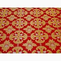 Ткань церковной тематики, церковный текстиль