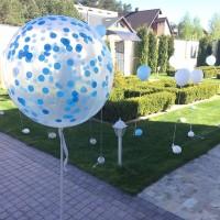 Оформление воздушными шарами в Харькове