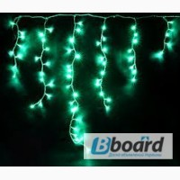 Светодиодная гирлянда БАХРОМА, монтаж праздничной иллюминации