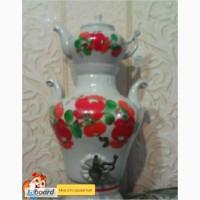Самовар керамический