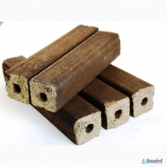 Топливные брикеты дуб-сосна смешаные