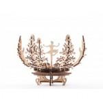 Механический-Деревянный 3D Конструктор - Механическая цветок-шкатулка
