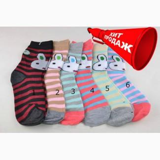 Носки детские хлопковые для деочек