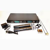 Радиосистема SHURE LX-88-III 2 микрофона в кейсе