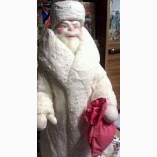 Продам Дед Мороз 1972 год Папье Маше