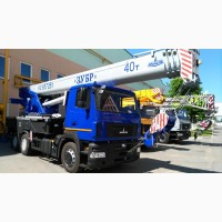 Новый автокран KC-6572BY-C Машека 40 тонн на шасси МАЗ-6312С5