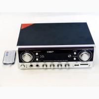 Стерео усилитель с LED дисплеем Bluetooth UKC Black UKC SN-305BT