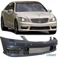 АКЦИЯ! Передний бампер на Mercedes S-Сlass W221
