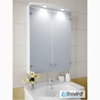Зеркальный шкафчик с подсветкой А68-S