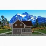 Каркасный дом из сип панелей по канадской технологии от застройщика