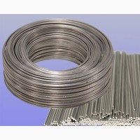 Сварочная проволока и прутки для нержавеющих сталей по ГОСТ, AWS, DIN оптом и розницу