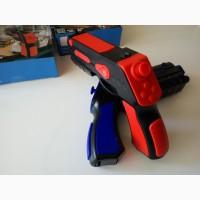 Новинка, AR GUN PRO 3D blaster Игровой пистолет автомат дополненной реальности, Киев