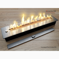 Биокамин. Топливный блок Алаид Style 600 ТМ Gloss Fire
