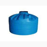 Емкость вертикальная на 7000 литров, пищевая бочка пластиковая, бак для воды