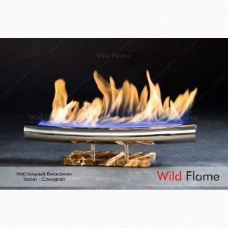 Биокамин Tokyo Samurai с живым огнем от Wild Flame