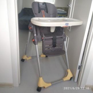 Продам стульчик для кормления малыша CHICCO
