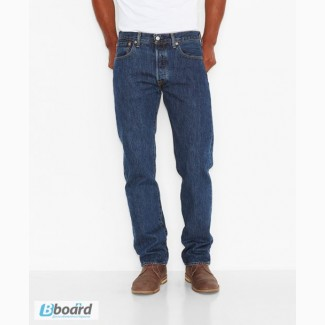 Джинсы Levis 501 Original Fit Jeans - Dark Stonewash (США)