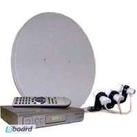 Установка спутниковых антенн. Спутниковое ТВ без абонплаты в Харькове и области