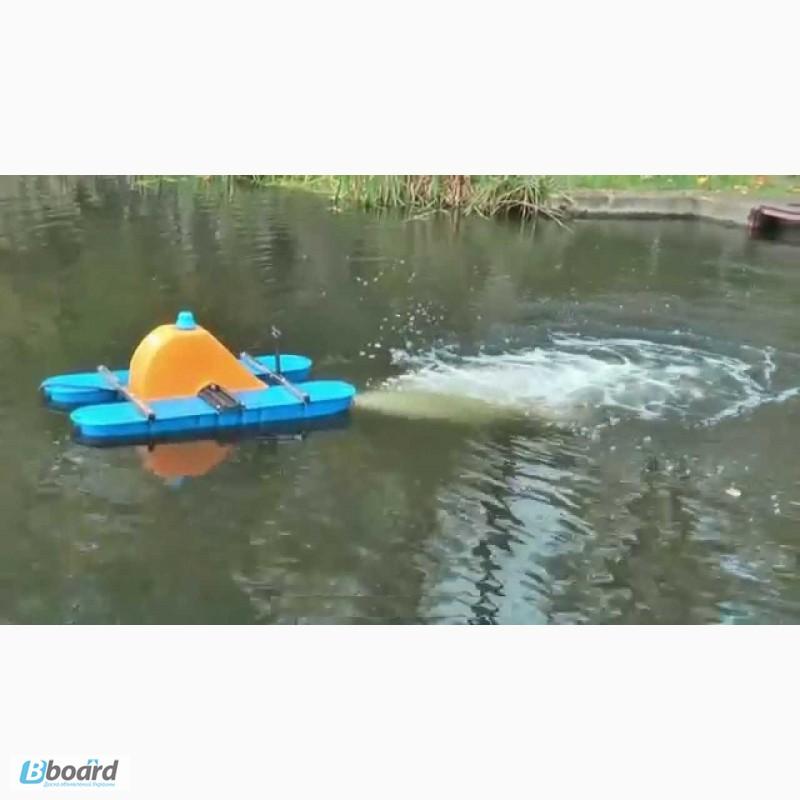 Как сделать аэратор для пруда видео