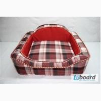 Зоотовары диван для собак красный