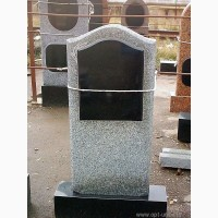 Памятники из серого гранита (покост)