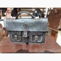 Кожаные рюкзаки, сумки, саквояжи, портфели из Испании