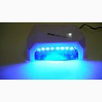 Ультрафиолетовая Led UV лампа 36 W с таймером для маникюра и педикюра