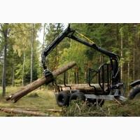 Лісовізний візок (прицеп) Hypro HV14
