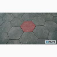 Шестиугольная резиновая плитка
