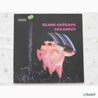 Black Sabbath-Paranoid 1970 (Holland) EX+/EX