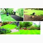 Предлагает продажу с доставкой и разгрузкой газон рулонный, готовый