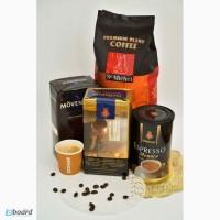 Большой выбор кофе-зерно, молотый, растворимый