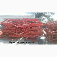 Культиватор КПСУ-4 Мощная балка рамы КПСУ-4 рассчитана на большие механические нагрузки