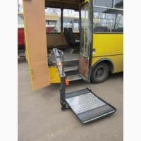 Площадка подъемная автомобильная для инвалидов типа ППА-150