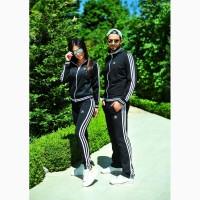 Женский и мужской спортивный костюм парный Adidas