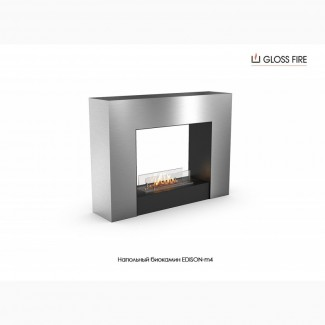 Напольный биокамин EDISON-m4 ТМ Gloss Fire