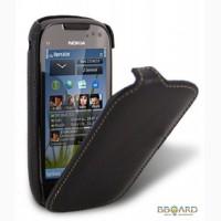 Кожаный чехол Melkco (JT) для Nokia C7