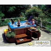Мини бассейн СПА (Джакузи) Jacuzzi Kios Wood – 8500$