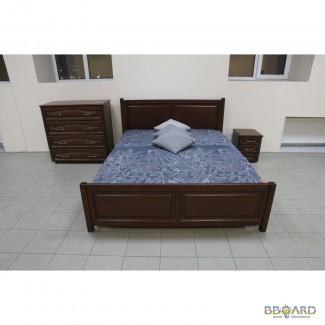 Кровать из массива дерева 1600х2000
