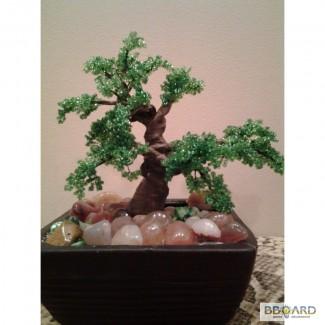 Продам бисерное дерево ручной работы