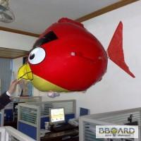 Летающая рыба Angry Birds на радиоуправлении