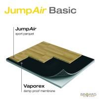 Спортивный паркет Sport parquet JumpAir Basic