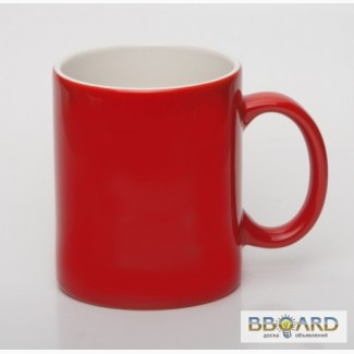 Чашки цветные с логотипом фирмы!