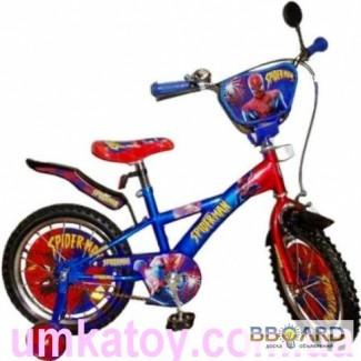 Продам детский велосипед 12 дюймов Спайдермен 131205