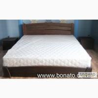 Продам буковые деревянные кровати с ортопедическими матрасами