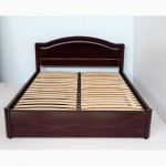 Кровать с ящиками двуспальная из массива дерева Анжела от производителя
