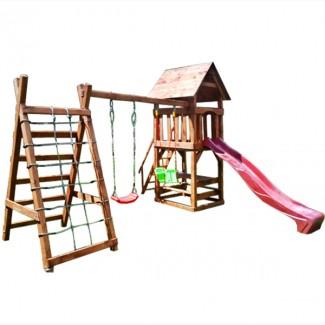 Деревянный детский комплекс Большая игра